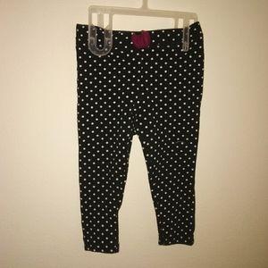 5/$10Lucky Brand baby girls 18m polka dot leggings